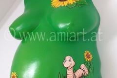 Sonnenblumen Wurm
