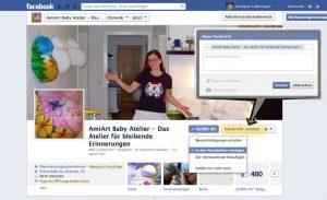 Baby Atelier auf Facebook